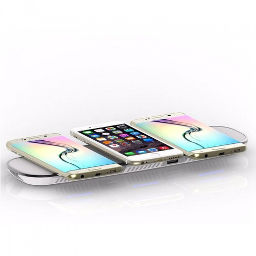 3 in 1 Qi WIreless Charging Pad For iPho...