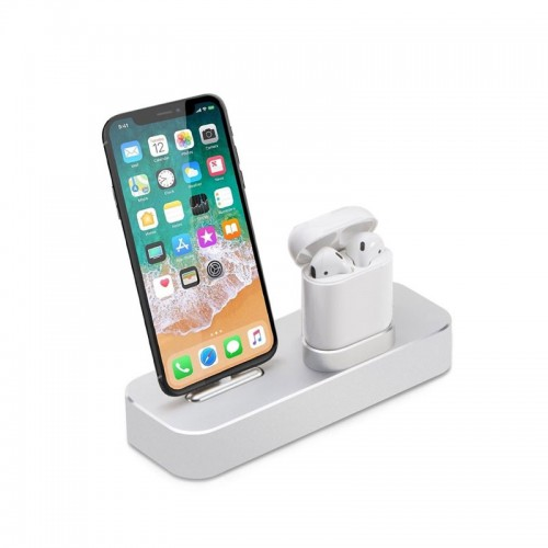 COTEetCI 2 in 1 Charging Dock For Apple ...