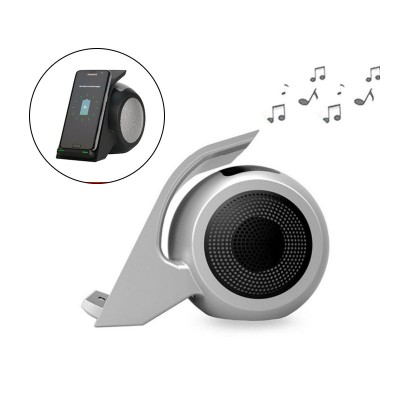 Portable Bluetooth Speaker with Qi Wireless Charger for iPhone x , iPhone 8 , Note 8 , S9