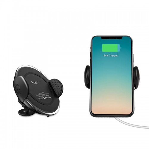 HOCO CW4 Car Qi Wireless Charger for iPh...