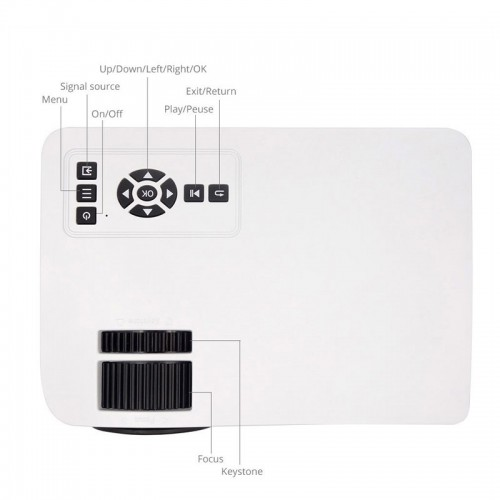 Mini Portable HDMI WiFi Projector