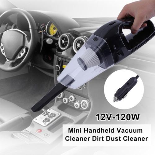 Portable Car Vacuum Cleaner 12V 120W Dirt Dust Cleaner