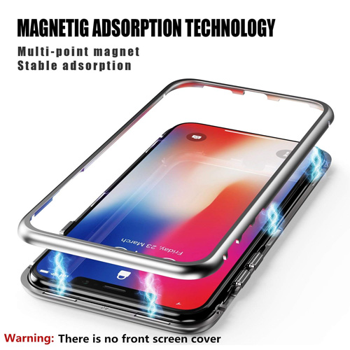 Baseus Magnetite Metallic Hard Case for iPhone X/XS - Black