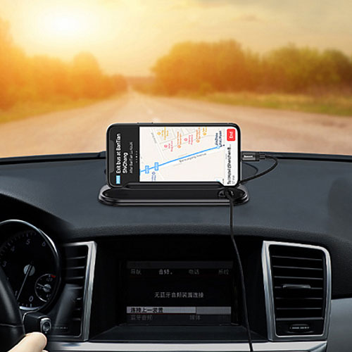 Baseus Silicone Horizon Mobile Holder with Parking Number Card Bracket