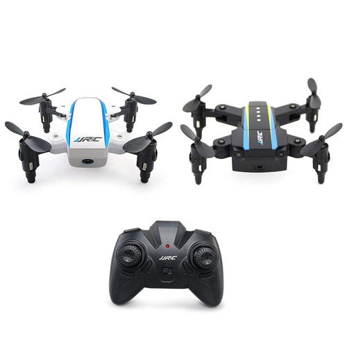 JRC H345 Foldable RC Drone Dual-Aircraft Combination JRCI White & JJRCII Black Mini Quadcopter with Remote Controller