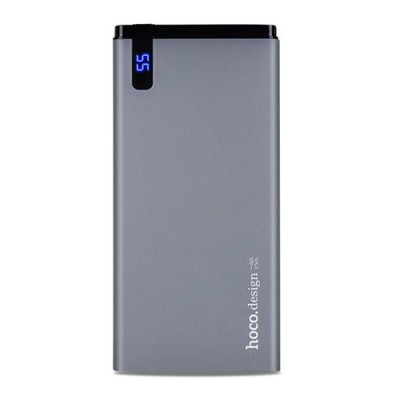 HOCO B25 Slim 10000 mAh Power Bank - Black