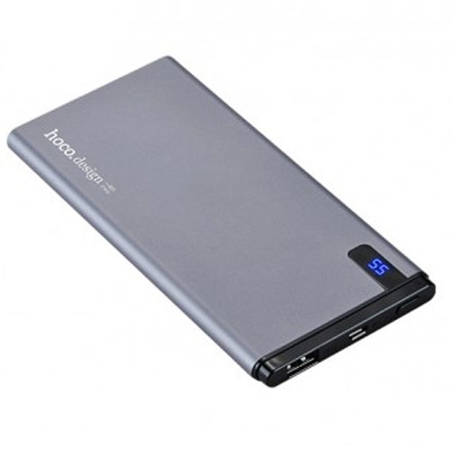 HOCO B25 Slim 10000 mAh Power Bank - Black
