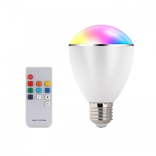 Bluetooth Smart RGB LED light Bulb with ...