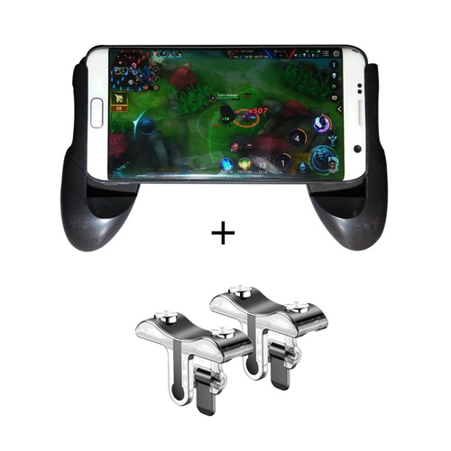 Coteetci Cellphone Game Joystick + PUBG Game Controllers Assist Tools