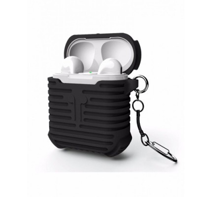i-Smile Airpods Silicone Protective Case - Black