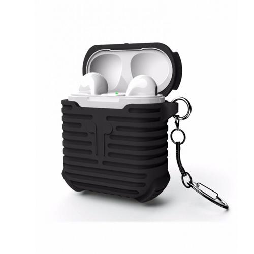 i-Smile Airpods Silicone Protective Case - Black