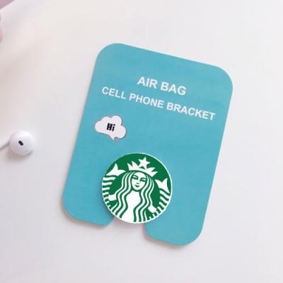 Starbucks Design 3D Cute Air Bag Holder For All Smart Phones & Tablets
