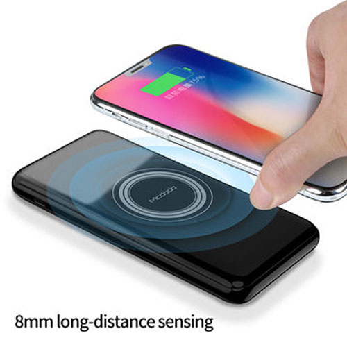 Mcdodo Portable Qi Wireless Charging Power Bank with LED Light 10000mAh