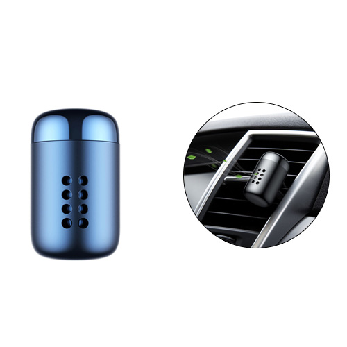 Baseus Aluminum Alloy Little Fatty In-vehicle Fragrance - Blue
