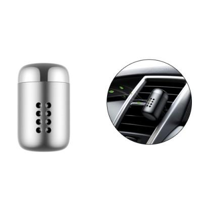 Baseus Aluminum Alloy Little Fatty In-vehicle Fragrance - Gray