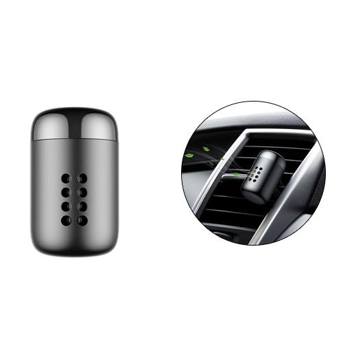 Baseus Aluminum Alloy Little Fatty In-vehicle Fragrance - Black