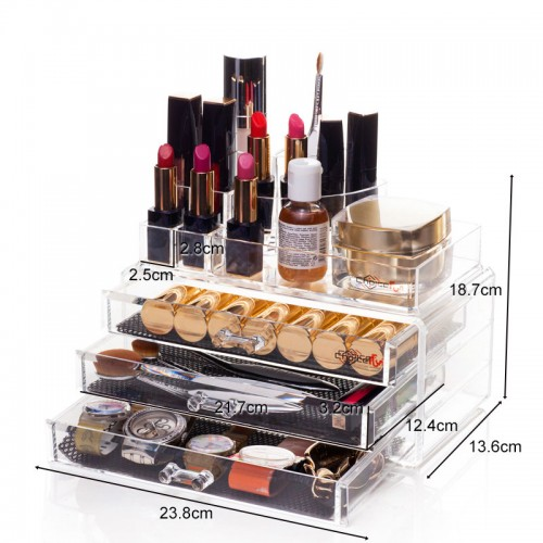 Acrylic  Cosmetic Makeup Organizer
