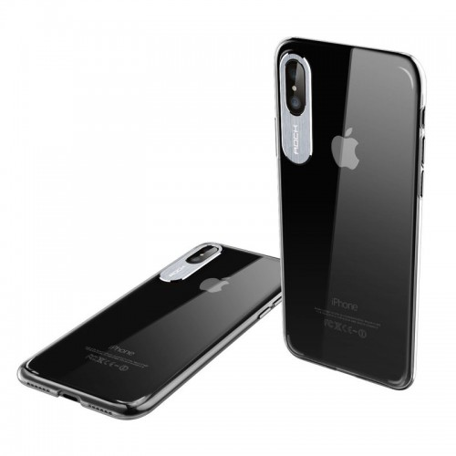 G-Case Qi Wireless Charger + Rock Classy Case For iPhone X