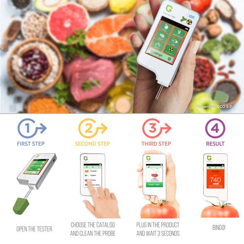 Greentest ECO 3 In 1 Digital Fruits , Vegetables , Meat Tester