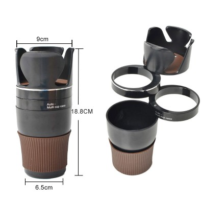 Multi Function 5 in 1 Car Multi Cup Holder