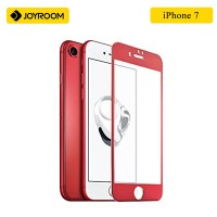 JOYROOM 3D Full Protection Tempered Glass Screen Protector For IPhone 7 - RED