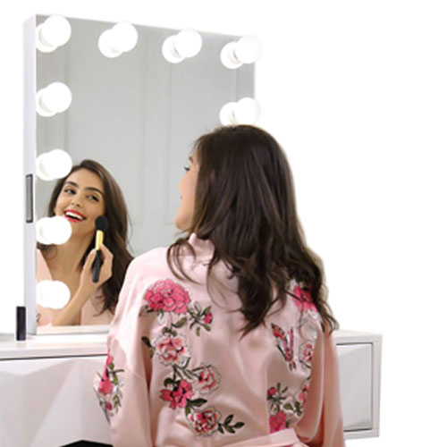 Vanity Mirror LED Lights Kit with 10 Dimmable Bulbs for Makeup (Mirror Not Included)