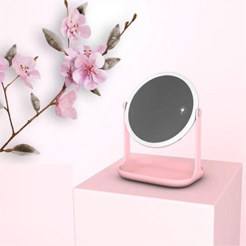 Multifuctional LED Makeup Lamp - Pink