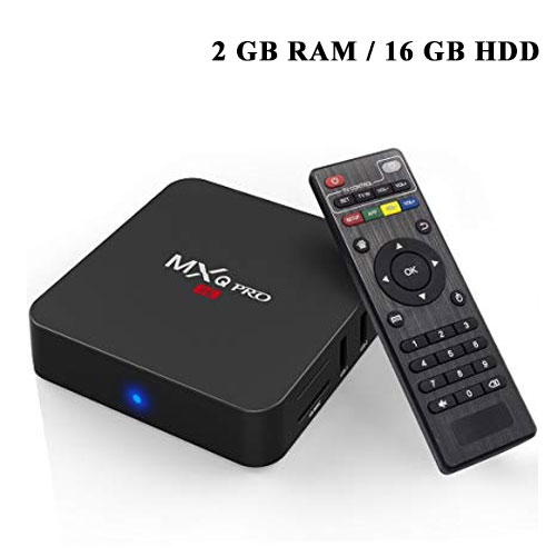 MXQ Pro 4K Android TV Box 2GB RAM and 16...