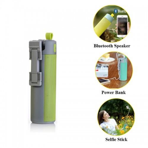 WOPOW Bluetooth Speaker with Selfie Stic...