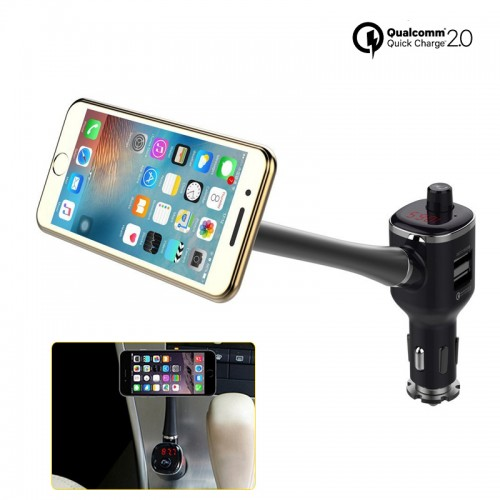 Bluetooth Car Magnetic Phone Holder with...