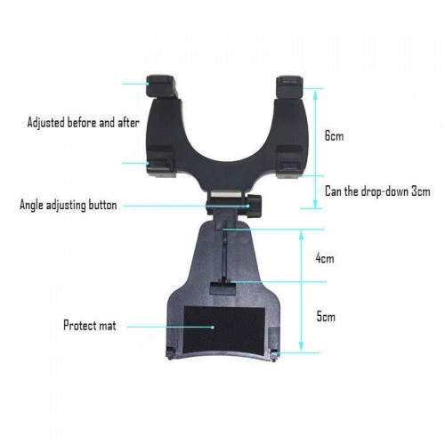 iMOUNT Universal Car Rear View Mirror Mount