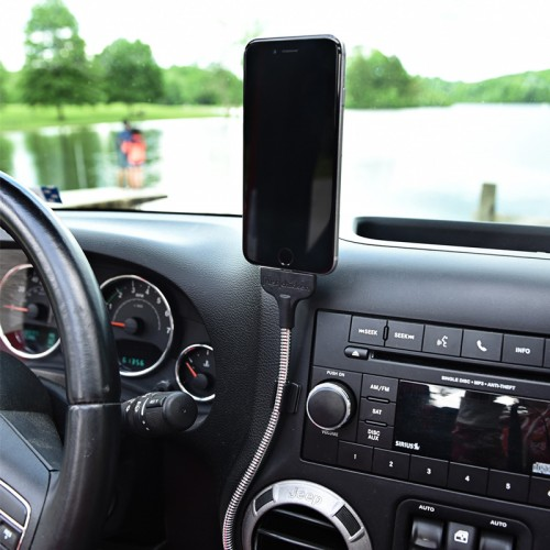 Flexible iPhone Lightning Car Dock
