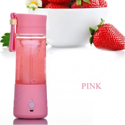 Portable MINI Juicer Blender For All types Of Fruits - Pink