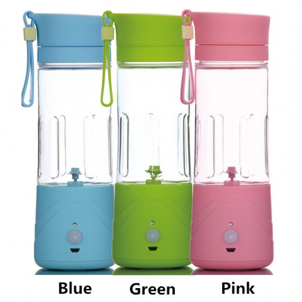 Portable MINI Juicer Blender For All types Of Fruits - Green