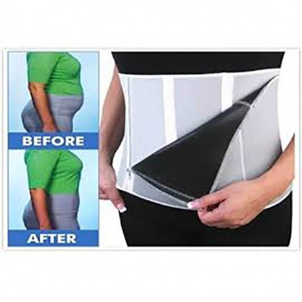 Sibote 5 Step Down Slimmer Belt With Zipper