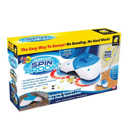 Spin Broom Hand Push Floor Sweeper