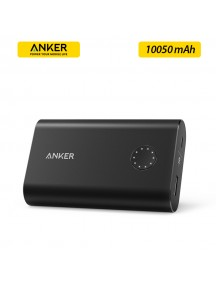 ANKER PowerCore+ 10050 mAh High-Capacity Portable Power Bank - Black