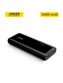 ANKER 16000 mAh 2 USB Power Bank For All Smart Phones & Tablets - Black