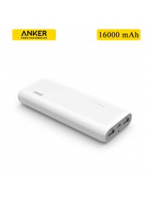 ANKER 16000 mAh 2 USB Power Bank For All Smart Phones & Tablets - White