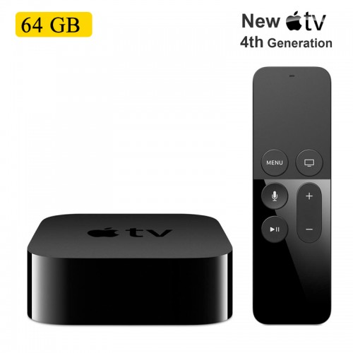 Apple TV 4th Generation 64GB, Full HD 10...
