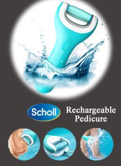Scholl Rechargeable Pedicure