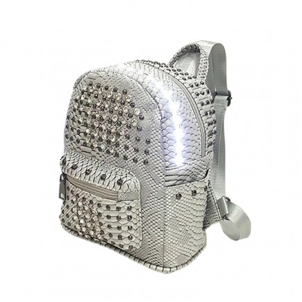 LED Light illuminating Backpack Bag - Gray