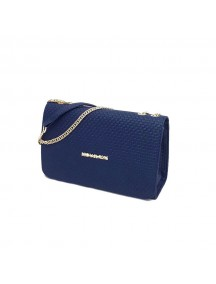 MICHAEL KORS Leather Cross Bag - Blue