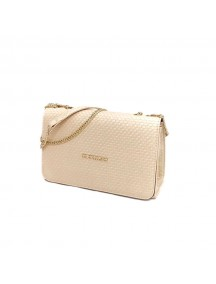 MICHAEL KORS Leather Cross Bag - Beige