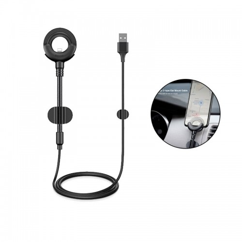 Baseus O-type Car Mount Cable 2.1A 0.8M ...