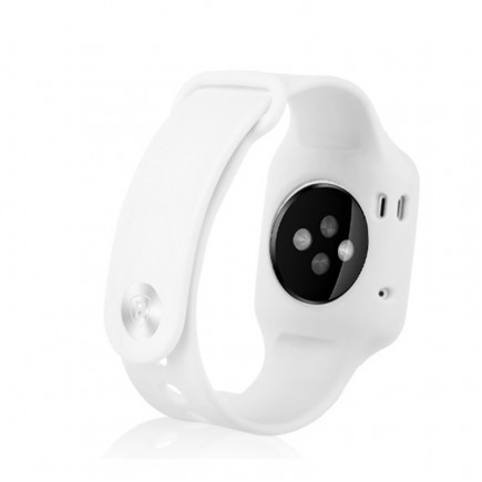 Baseus Soft Silicon Sports Watch Band For Apple Watch 42 MM - White