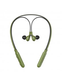 BASEUS E16 ENCOK Neck Hung Bluetooth Earphone - Green