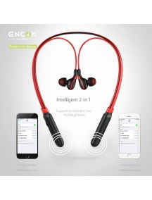 BASEUS E16 ENCOK Neck Hung Bluetooth Earphone - Black