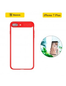 BASEUS Mirror Case For iPhone 7 Plus - Red