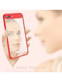 BASEUS Mirror Case For iPhone 7 - Red